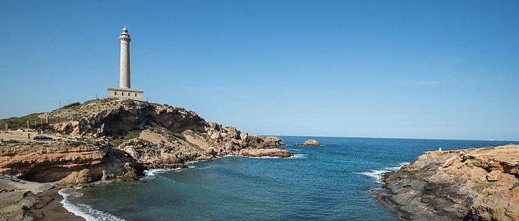 Cartagena, Spain Lighthouse by the Coast