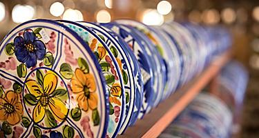 Spain Cartagena Local Artisan Ceramics Shopping