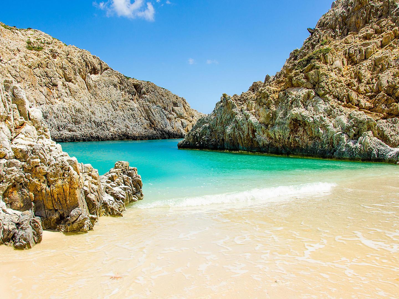 Chania, Crete Pristine Beach