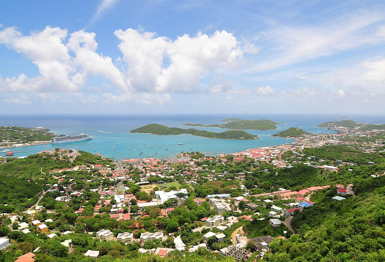 St Thomas Lush Colorful Coast