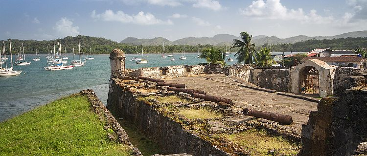 View of the Santiago Fortification in Panama