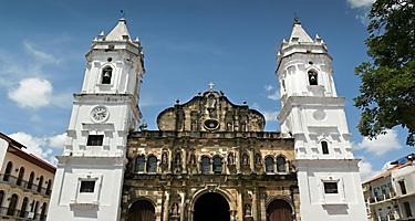 The Panama Cathedral in Colon