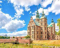 View of the Rosenborg in Copenhagen, Denmark