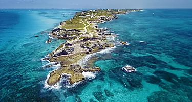 Clear Water of Punta Sur National Park, Cozumel, Mexico