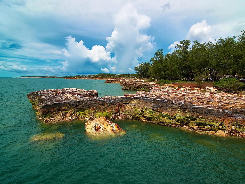 Darwin, Australia, Rocky coast
