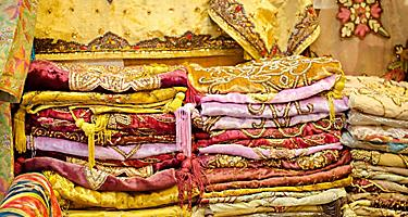Carpets found in the markets of Dubai