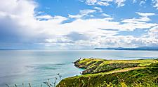 The Baily Lighthouse on Howth Head in Ireland