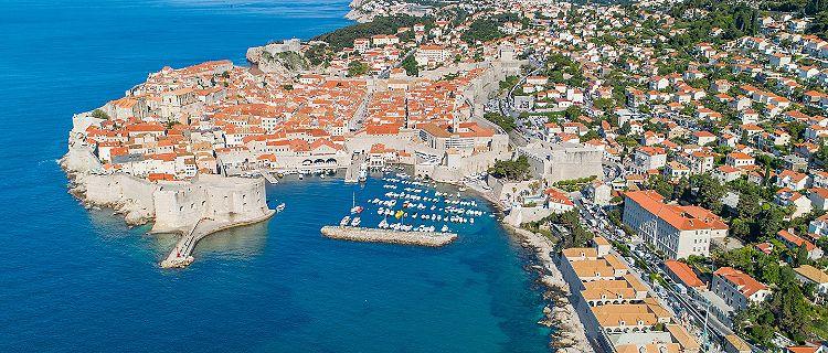 Croatia Banje Beach Coast Aerial