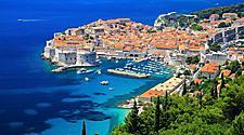 Scenic view in Dubrovnik, Croatia