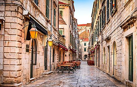 Croatia Dubrovnik Old City