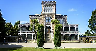 The Larnach Castle in Dunedin, New Zealand