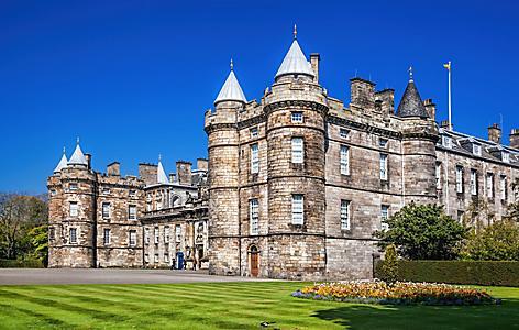 The Palace of Holyrood in Edinburgh, Scotland
