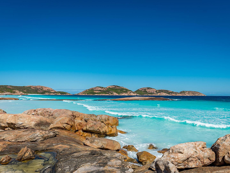 Esperance, Australia, Lucky bay