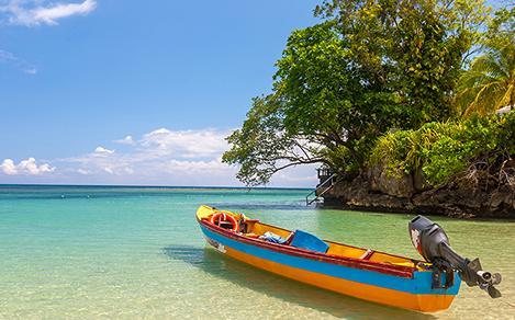 falmouth jamaica canoe beach