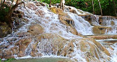 Dunn's River Falls in Jamaica