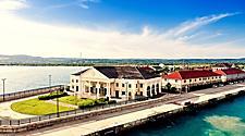 Royal Caribbean's dock at the port of Falmouth, Jamaica