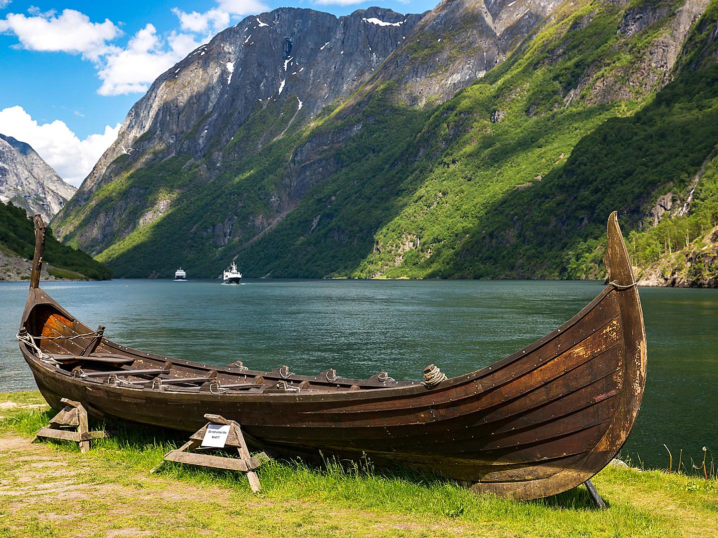 Flam, Norway Replica Viking Boat