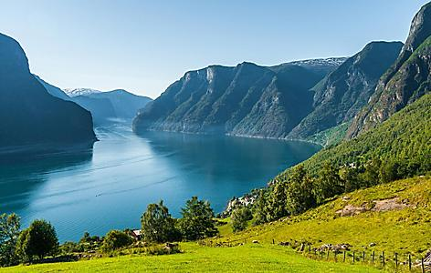 A fjord in Norway