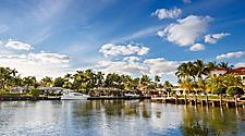 Waterway in Fort Lauderdale, Florida