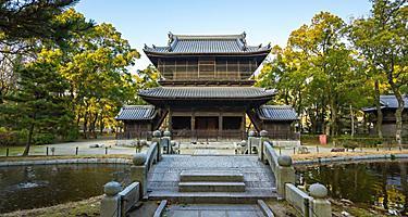 Shofukuji Zen Temple in Hakata, Fukuoka, Japan