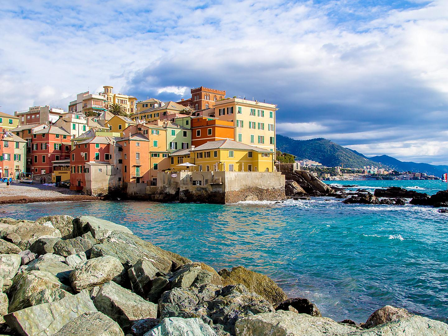 Genoa, Italy, Boccadasse district