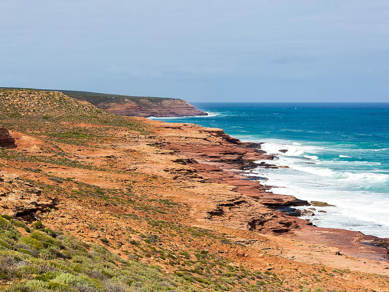 Geraldton, Australia Indian Ocean Cliffs