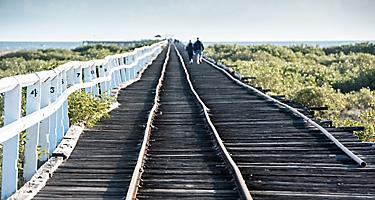 A railway jetty in Geraldton, Australia