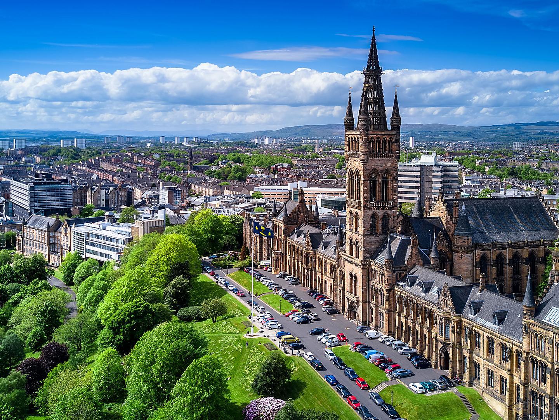 Glasgow (Greenock), Scotland, Aerial View