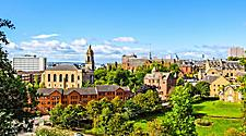 City view of Glasgow, Scotland