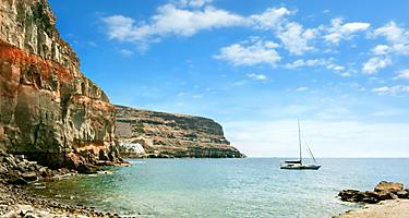 Puerto de Morgan coast in Gran Canaria, Canary Islands
