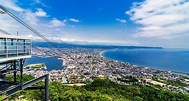 Million Dollar View, the view from atop Mt. Hakodate in Hakodate, Japan