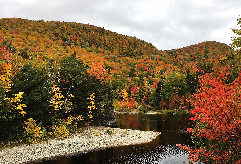 Nova Scotia Cape Breton Island Fall