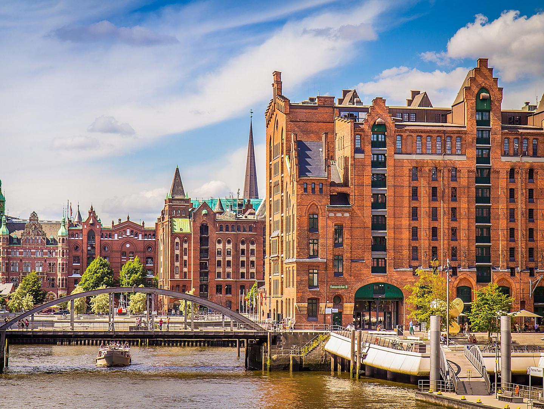Hamburg, Germany, Historic Buildings