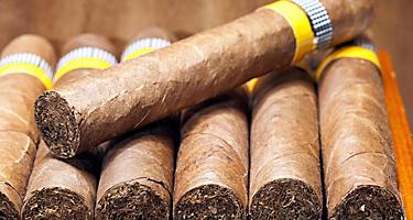 Cuban cigars in Cuba