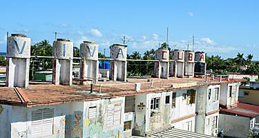 Outdoor mosaic tile museum by Cuban artist, José Fuster, Havana Cuba