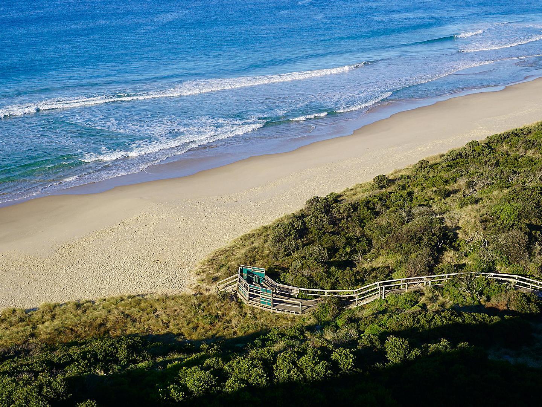 Hobart, Tasmania Landscape Beach
