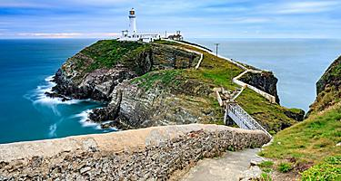 The South Stack Lighthouse in Wales