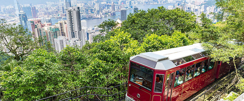 Hong Kong, China Victoria Peak Tram