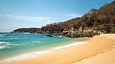 Huatulco, Mexico Beach