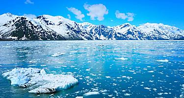 hubbard glacier alaska yakutat bay icy point