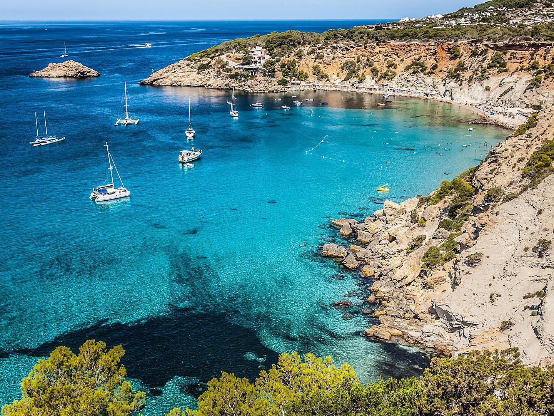 Ibiza, Spain, Es Verda Island