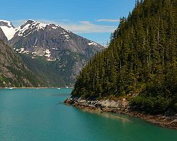 inside passage vancouver island british columbia ocean mountain