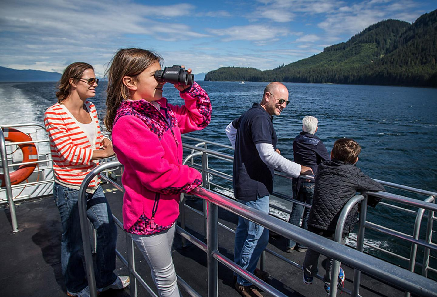 Alaska Sightseeing Boat Excursion