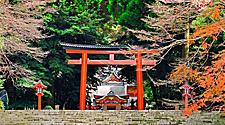 Kirishima Shinto Shrine in Kagoshima, Japan