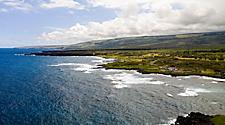 Hawaii Kailua Kona Punalu'u Beach Coast