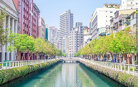 Street view of Kaohsiung City