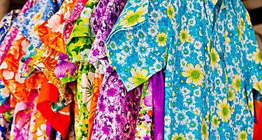 Hawaiian shirts found shopping in Hawaii
