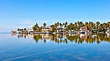 Houses on Water in Key West, FLorida