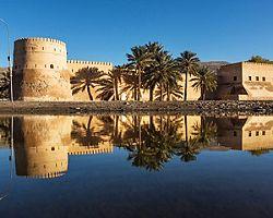 Khasab Castle in Khasab, Oman