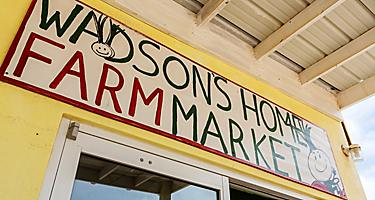 Bermuda Kings Wharf Farmers Market Sign